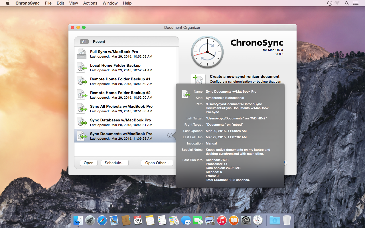 ChronoSync Updated to Version 4.7.3 Image